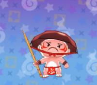 妖怪ウォッチ3の「ぶようじん坊」の画像