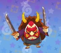 妖怪ウォッチ3の「くしゃ武者」の画像