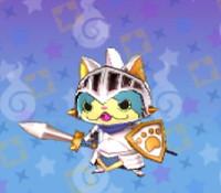妖怪ウォッチ3の「ニャン騎士」の画像