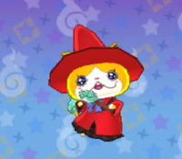 妖怪ウォッチ3の「ニャン魔女」の画像