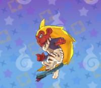 妖怪ウォッチ3の「風魔猿」の画像