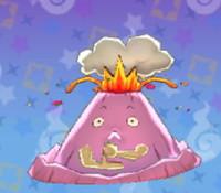 妖怪ウォッチ3の「あそっ火山」の画像