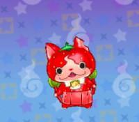 妖怪ウォッチ3の「イチゴニャン」の画像