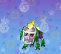妖怪ウォッチ3の「ロボメン犬」の画像
