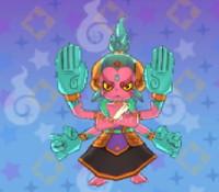 妖怪ウォッチ3の「あしゅら」の画像