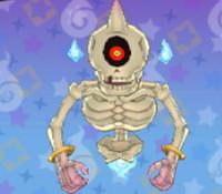 妖怪ウォッチ3の「バケルトン」の画像