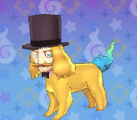 妖怪ウォッチ3の「ジェントル面犬」の画像