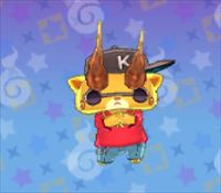 妖怪ウォッチ3の「KJ」の画像