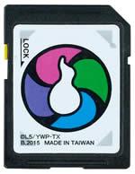 妖怪ウォッチ DX妖怪ウォッチU 更新用 オフィシャル SDカードの画像