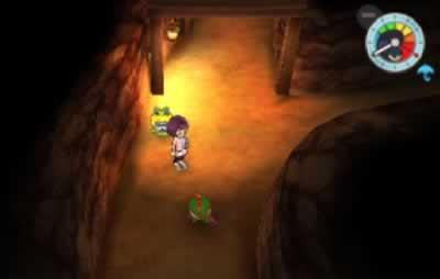 イナホ側の地下通路で、ガチン小僧を発見
