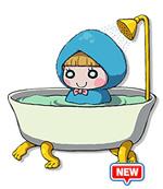 ポカポカ族:風呂ずきんの画像