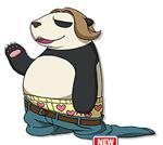 ブキミー族の妖怪:こしパンダの画像