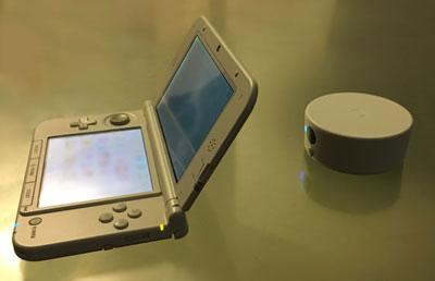3DSとリーダーライターの距離感