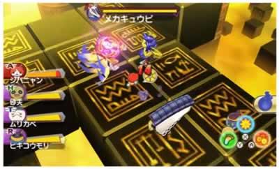 妖怪ウォッチバスターズTのゲーム画面